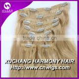 2014 Beautiful hair extensions clips/ clip in hair extensions for african american/clip hair
