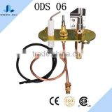 Fireplace gas burner oven parts pilot burner