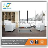 Malaysia made furniture leather chesterfield sofa white with stainless steel legs GAS749
