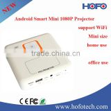 2015 new product 1080P Android Smart Mini projector, Handheld Pico led projector support wifi