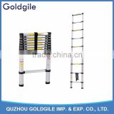 Goldgile EN131-6 Aluminum 3.8m Telescopic Ladder With Finger Safety Gap                                                                         Quality Choice