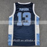 Sublimation Men's Basketball Jersey Design 2016 Kids Size Uniforms wholesale