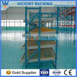 Flow through Racks for cartons in Nanjing,iron heavy duty carton flow rack with wheels and rollers for pipeline flow line or sto