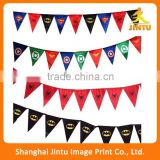 2016 Cheap Outdoor Hanging Custom Flag Bunting String Flag Pennant Banners                                                                         Quality Choice