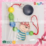 Hot New Product For 2015 Alibaba China Promotion Product High Quality Wooden Baby Pacifier Holder For Wholesale                                                                         Quality Choice