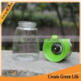 Grinder Mill 150ml Glass Bottle With Grinder Cap For Herb Salt