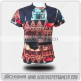 all over sublimation printing t-shirt, rock band t-shirts