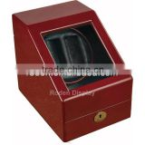 Hot Sell Brown Automatic Wooden Watch Winder Box