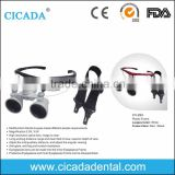 CICADA CE Approved dental medical magnifying glass 2.5X dental loupes with factory price