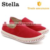 new model casual rubber sole woven cotton welt canvas shoes men                                                                         Quality Choice