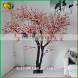 Factory supply artificial cherry blossom tree mini artificial cherry tree silk artificial cherry blossom tree