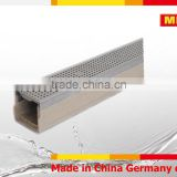 MEA Polymer Concrete Channel stainless steel grating trench drain polymer concrete channel