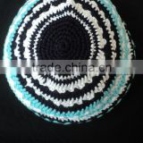 2015 new design cotton kippah / Cotton handmade cap kipa / Crochet cap jewish kippah