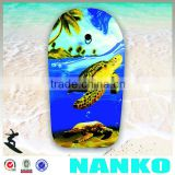 NA1121 41Inch EPS Bodyboard, Ocean Turtle Printed Slick Boogie Board, Surfing Entertainment