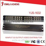 16 In 32 Out BNC Video splitter