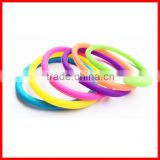 New arrival cheap silicone elastic band hair extensions