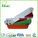 Non-Stick Metal Ceramic Coating Loaf Pan With Silicone Grip,Carbon Steel non-stick Cookware