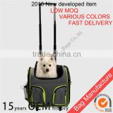 Cat cage with wheels Pet Carrier Luggage Box Dog Crate with wheels Dog Backpack Crate Rolling Wheel