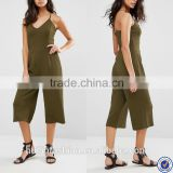 rompers jumpsuits women 2016 spaghetti strape wide leg pants women jumpsuit                                                                                                         Supplier's Choice