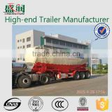 China 2015 3 axles powder material tank semi trailer,cement bulker semi trailer with factory price