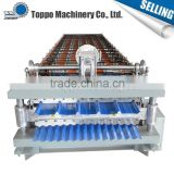 China supplies High speed High quality metal roof panel double decking roll forming machine