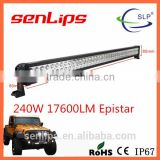 Off-road 240W double rows LED light bar Super-quality CE RoHS 40inch camping led strip light bar