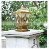 garden stake light lamp outdoor lights Aluminum casting practical garden pillar lantern lamp