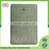 Plastic water meter box manhole cover 500x300x4