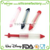 Food grade silicone cake decorating tools silicone cake decorating pen