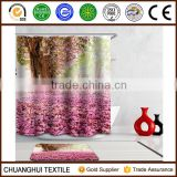 new arrival digital printed custom shower curtain for holidayhostel