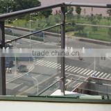 factory price supply balustrade with glass panel,good quality of balustrade with glass panel