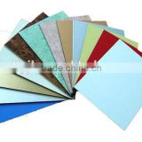 3mm aluminum composite panel PE /advertising board for shops to QATAR building material supplier