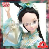 11 inch Chinese plastic fairy toy doll clothes