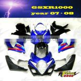 Motorcycle body kits for SUZUKI GSXR1000K7 07 08 2007 2008