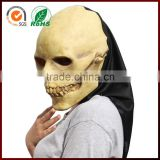 halloween latex baby realistic skull mask
