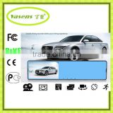 G-sensor Car Taxi DVR Dual Lens Camera Digital Video Recorder Night HD1080p 4.3 inch screen display 168