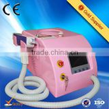 1-10Hz Portable Nd Yag Q-switch Tattoo Removal Vascular Tumours Treatment Machine With Nd Yag Laser Tips