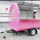 Mobile food truck with Stainless working table/Vehicle traction