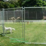 DogHealth - galvanised dog kennel run panels 50x50 mesh - Dog Run Galvanised DOOR Panels