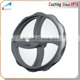 OEM custom cast iron casting valve handle wheel
