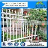 high quality wrought iron backyard metal fence spears