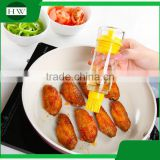 Kitchen accessories diy tool dustproof silicone baking cooking bbq barbecue brush oil bottle brush