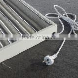 Hanging Aluminium T5 HO fluorescent grow light reflector fixture for 2ft 4ft 24W 54W 3000K 6500K 2tube 4tube 6tube 8tube