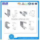 China aluminum factory high quality custom extruded aluminum profile for kitchen cabinet