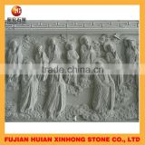 Pale green Chinese statues relief sculpture