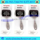 Stainless steel basting slotted turner cooking tool