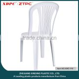 Cheap plastic dining chair without arm