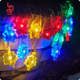 maple colorful copper string shaped battery operated mini fairy firefly christmas holiday decoration light string