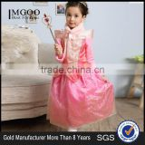 MGOO Wholesale Stock 2016 New Style Pink Winter Girl Dress Sleep Beauty Furry Infant Fairy With Magic Sticks