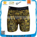 High Quality Men Boxers Cartoon Underwear Modal Men's Boxers Low-Waist Padded Men Underwear